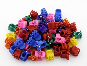 Mini claw clamp caoutchouc - big (100 pcs)