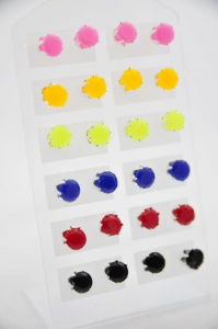 Earrings (12 pairs)