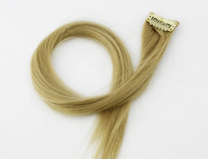 Hairclip - fake hair (1 strand)