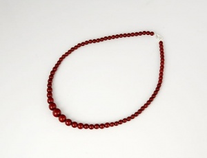 Neklace 45 cm/5 mm - graded